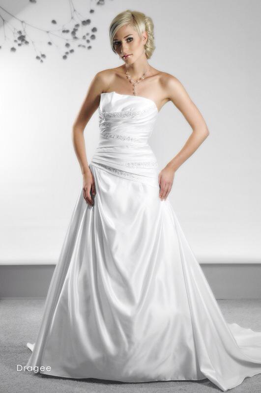 Svadobné šaty Dragee od Emil Halahija