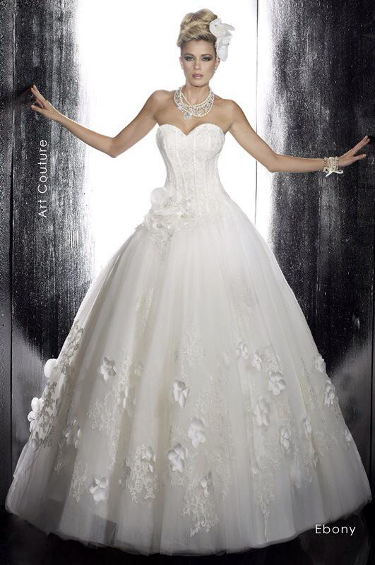 Svadobné šaty Ebony od Emil Halahija
