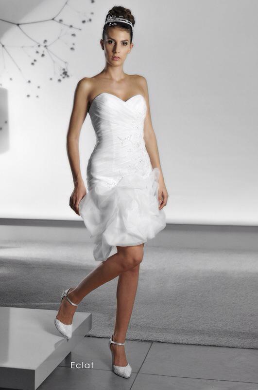 Svadobné šaty Eclat Short od Emil Halahija