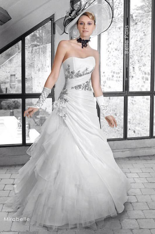 Svadobné šaty Mirabelle od Emil Halahija
