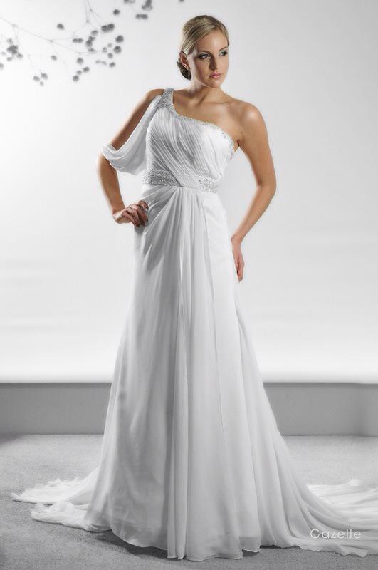 Svadobné šaty Gazelle od Emil Halahija