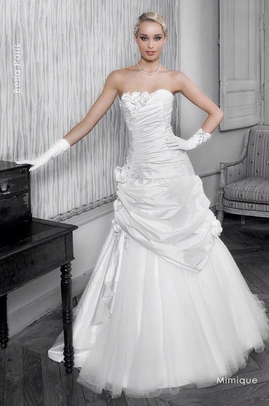Svadobné šaty Mimique od Emil Halahija