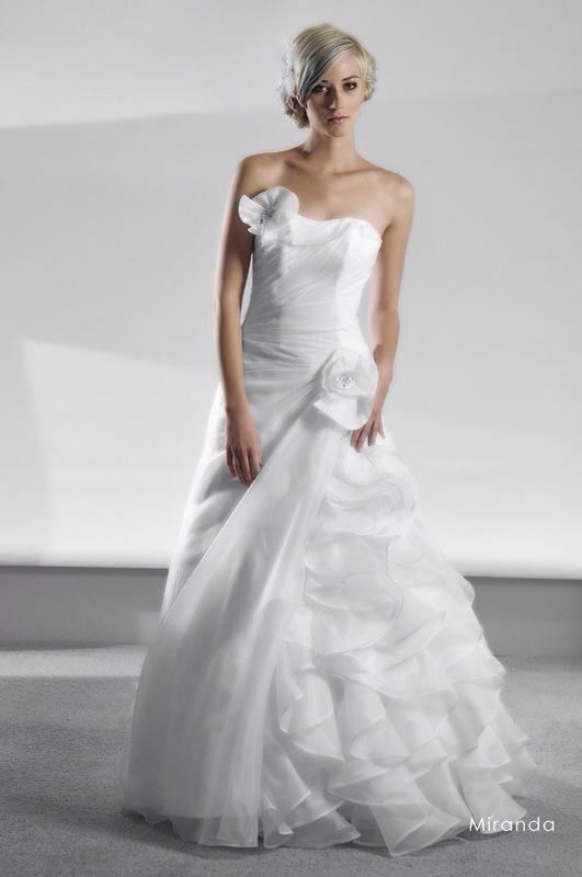 Svadobné šaty Miranda od Emil Halahija