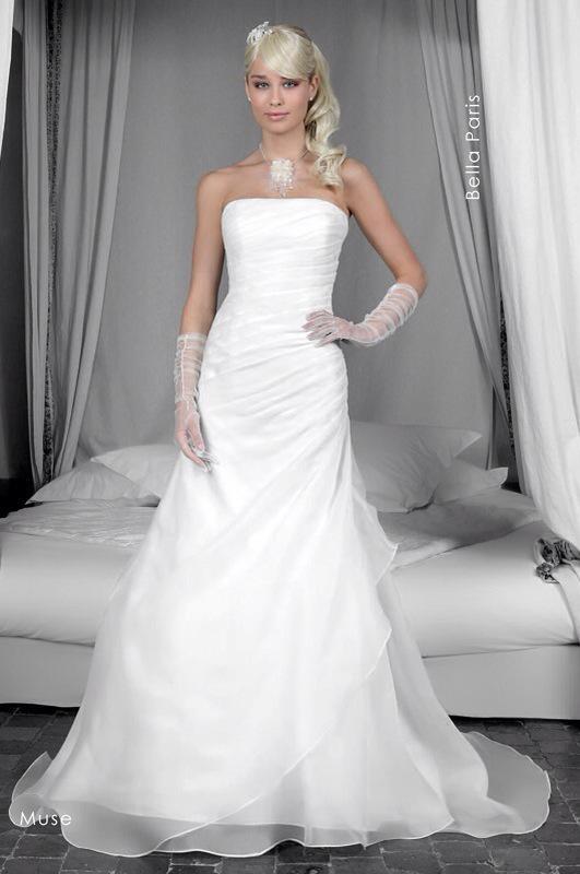Svadobné šaty Muse od Emil Halahija