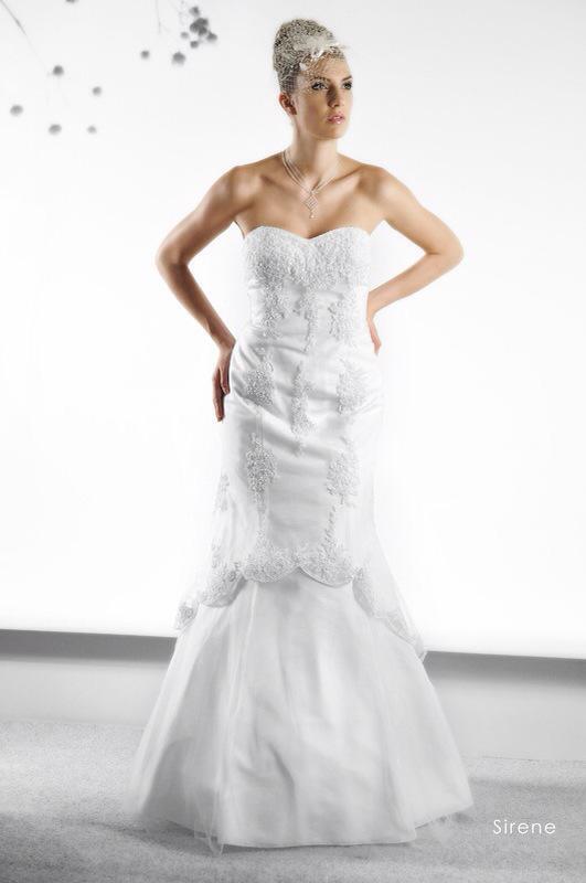 Svadobné šaty Sirene od Emil Halahija